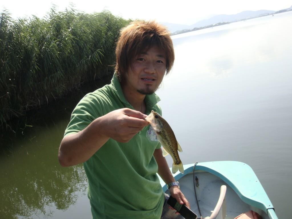 西の湖 バス釣り