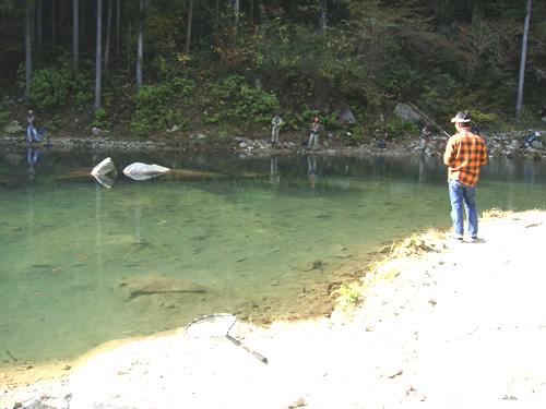 岐阜の管理釣り場