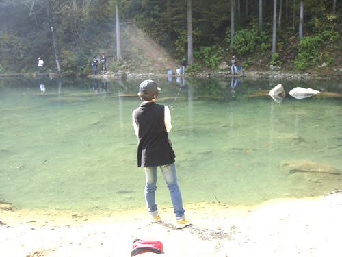 美濃の管理釣り場