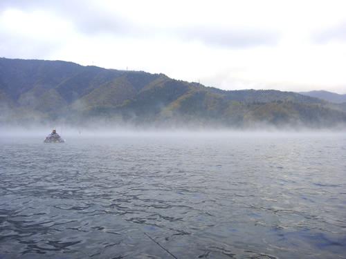 琵琶湖のバス釣りのポイント「大浦」