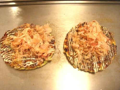 大阪のお好み焼き