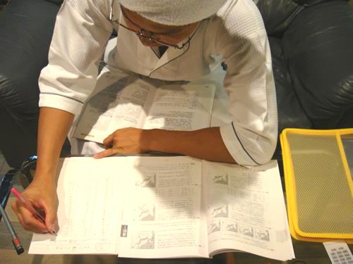 ボート免許取得の勉強