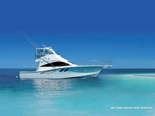 ヤマハのマリンボート