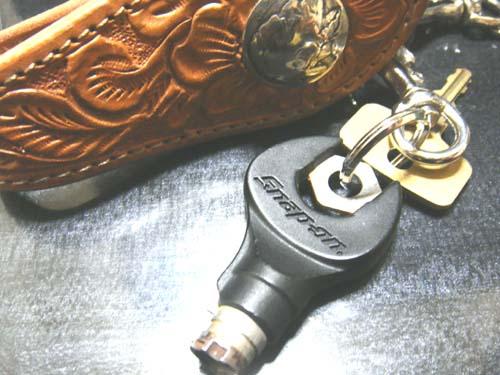 スナップオンの工具箱の鍵