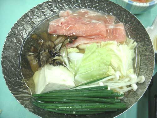 岐阜の温泉、下呂温泉の夕食