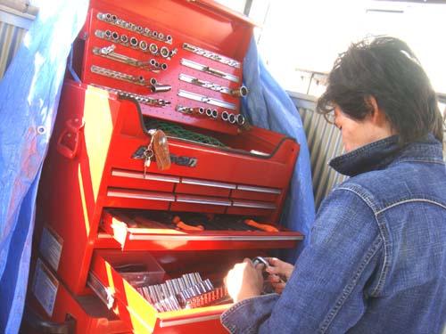 スナップオンの工具箱