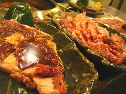 岐阜県岐阜市内の飛騨牛焼肉のお店、赤べこ