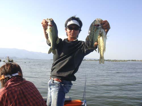 琵琶湖南湖バス釣り