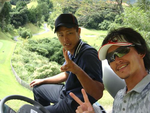 上石津ゴルフ倶楽部でゴルフ
