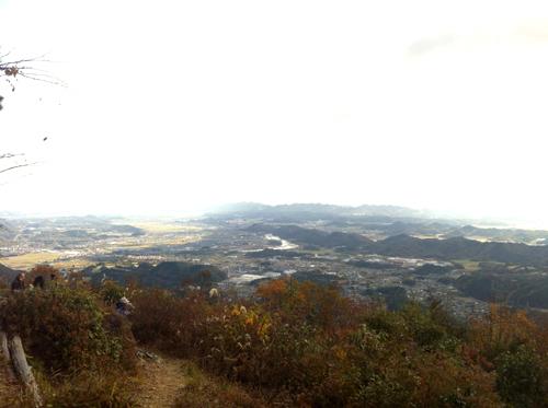天王山山頂