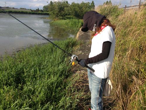 ライギョ釣り