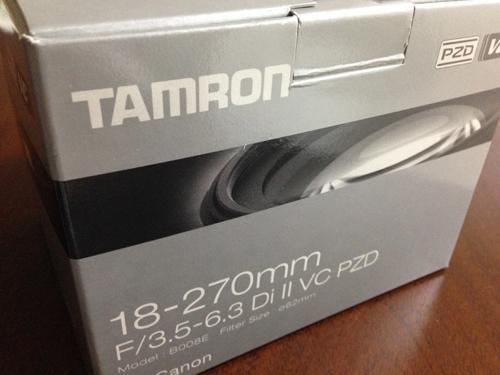 タムロンAF18-270mmF3.5-6.3 VC PZD DiII B008