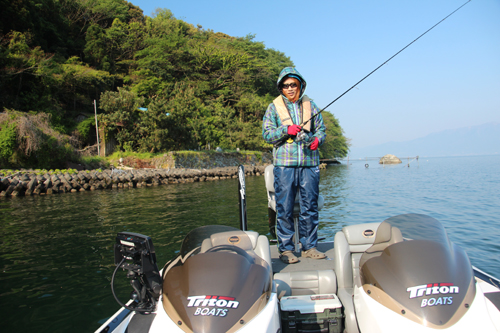 沖島バス釣り