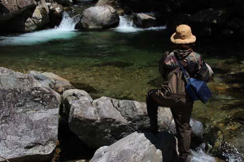 岐阜の渓流釣り