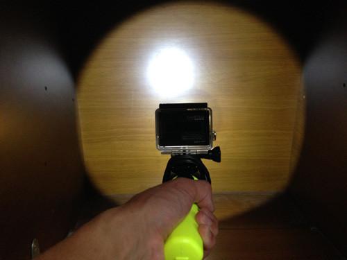 防水懐中電灯