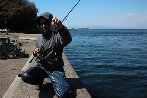 沼津市で餌釣り