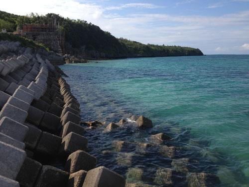 伊良部島で釣り