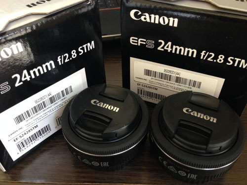 Canon単焦点広角レンズ EF-S24mm