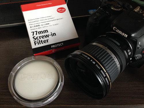Canon カメラ用保護フィルター 77mm
