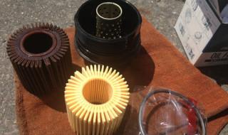 ヴォクシーのエンジンオイルとオイルフィルターを交換