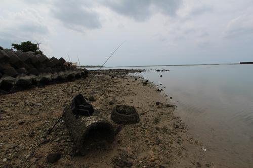 沖縄メッキ釣り