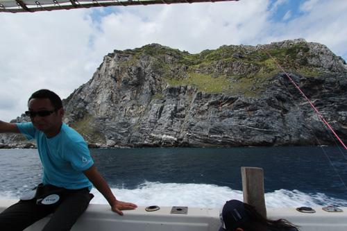 沖縄のロウニンアジ釣り