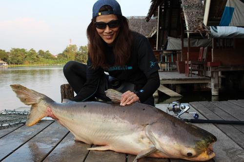 タイの釣堀