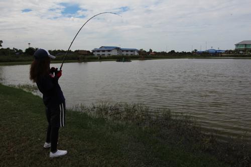 バラマンディー釣り