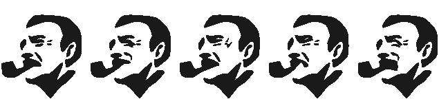喜怒哀楽のあるサントリーBOSSのイラスト
