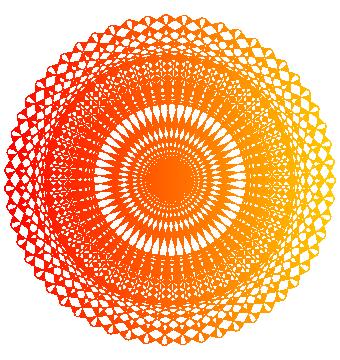 複雑な模様