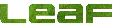 葉っぱのロゴ