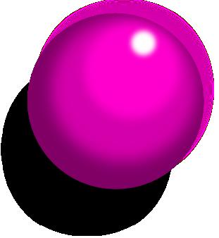 inkscapeで立体的な球体
