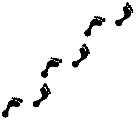 「足跡 イラスト」の画像検索結果