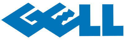 DELLとGEOのロゴを合体