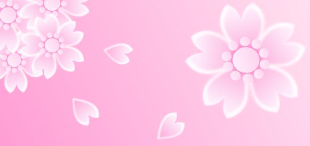 桜の花びらのイラスト