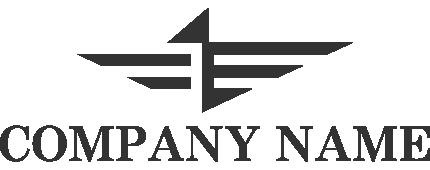 コンドルをモチーフにした企業ロゴ
