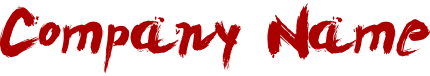 ダイイングメッセージ風のロゴ