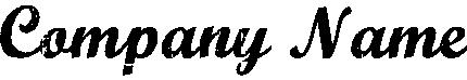 オールドスクール風のロゴ