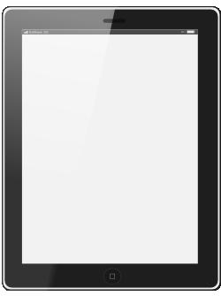 iPadのイラスト