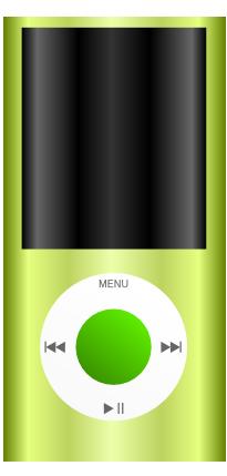 iPodのイラスト