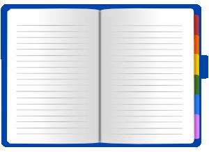 メモ帳のイラスト