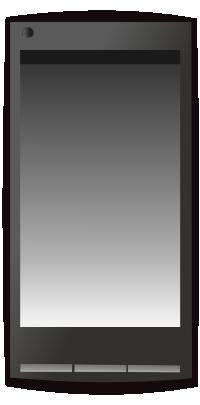 携帯電話のイラスト