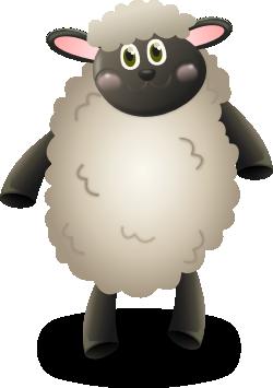 羊のキャラクター風イラスト