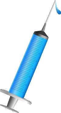 注射器のイラスト