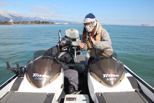 琵琶湖ボート