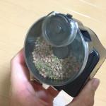 水槽の自動餌やり器